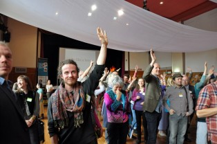 All in favour of citizen-led local economic change, raise your hand!