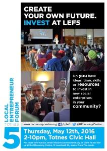Invest at Local Entrepreneur Forum